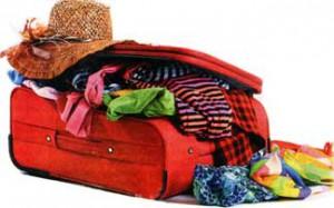 пакуют чемоданы