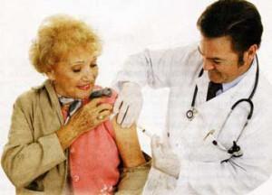 На прививку в первый раз