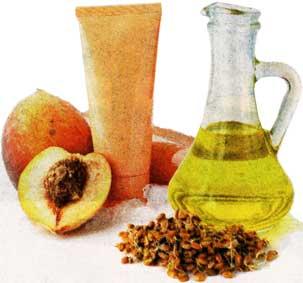 персиковое, оливковое масло
