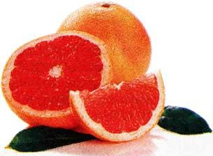 грейпфрут и мандарин