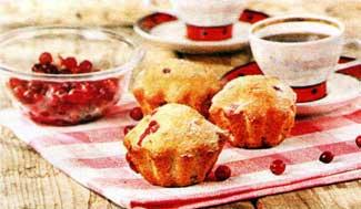 ягодный кекс