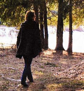 прогуливалась в парке