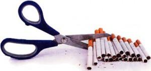отказывающихся от табака