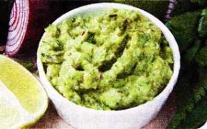 Овощной гуакамоле
