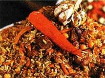бурого риса