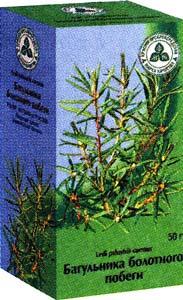 Трава багульника болотного