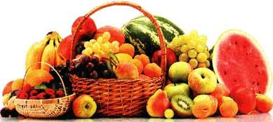 свежие сочные фрукты
