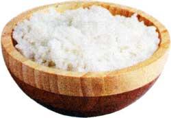 при отложении солей