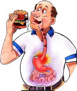 лечебного питания при ГЭРБ