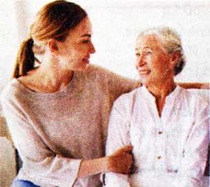 с пожилыми родителями