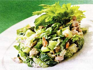 Романтический салатик