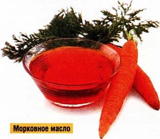 Рецепт морковного масла