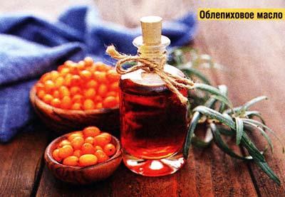 Облепиховое масло используют