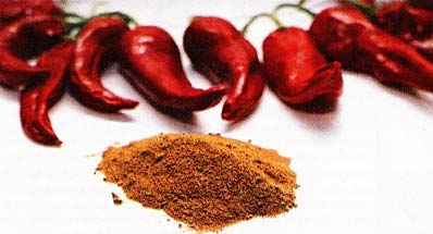 Жгучий красный перец