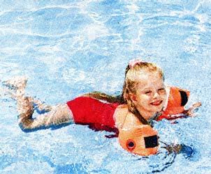 детьми в бассейн