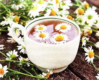 ромашкового чая