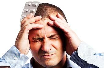по поводу головной боли