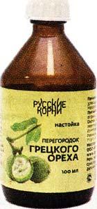перегородок ореха грецкого